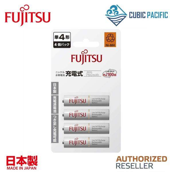 Fujitsu Standard AAA Rechargeable Battery 800mAh 4pcs Malaysia