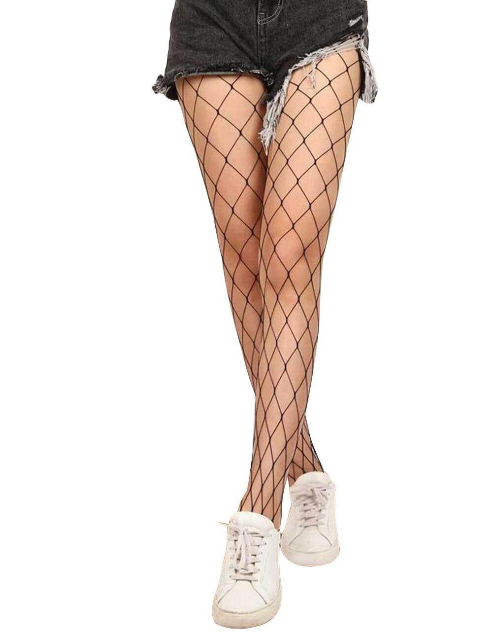 4bf8fa833 Women Sexy Fishnet Top Mesh High Thigh Stockings Hosiery Pantyhose Long  Socks