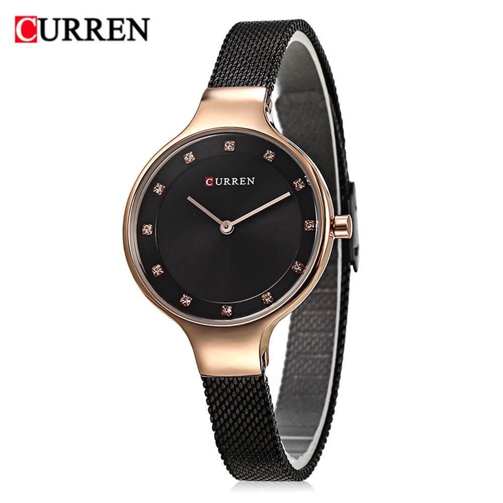CURREN 9008 Women Watch New Quartz Top Brand Luxury Fashion Wristwatches Ladies Gift For Lady Malaysia