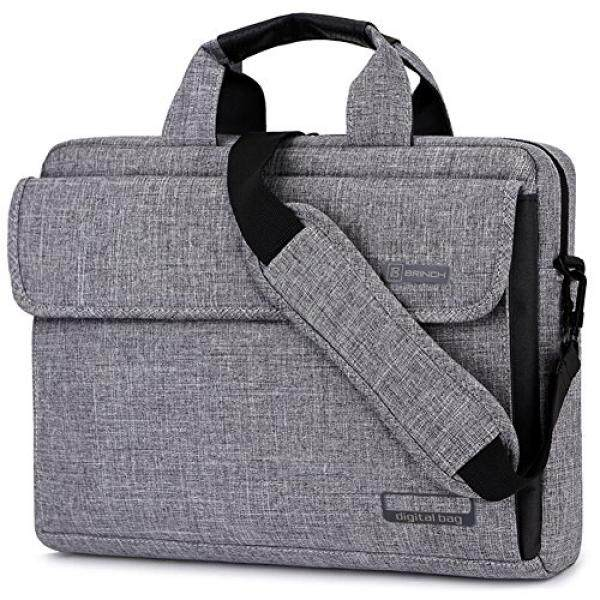 Brinch 13.6 Inch Unisex Fabric Laptop Sleeve Messenger Shoulder Bag for 13 - 13.6 Inch Laptop / Notebook / MacBook / Ultrabook / Chromebook Computers Malaysia