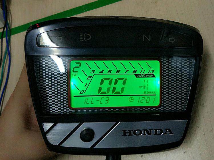 Honda EX5 DREAM Meter Full Digital Speedometer Motor Superbike MOTOGP Style
