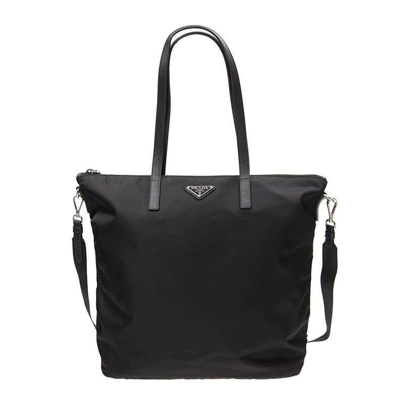 815d470b6277f0 ... uk prada handbag 1bg189 z0t f0002 nylon black 6f629 53248