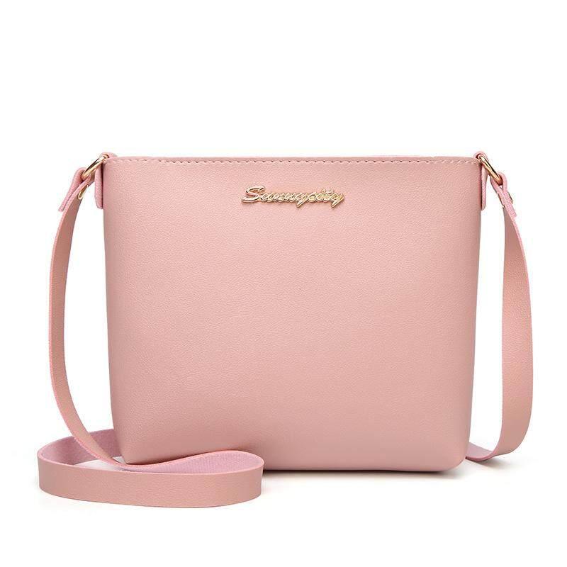 Josin Leisure Beg Wanita Minimalist Ling Bag For Women Basic Lady Sling Bag Simple Fashion Women