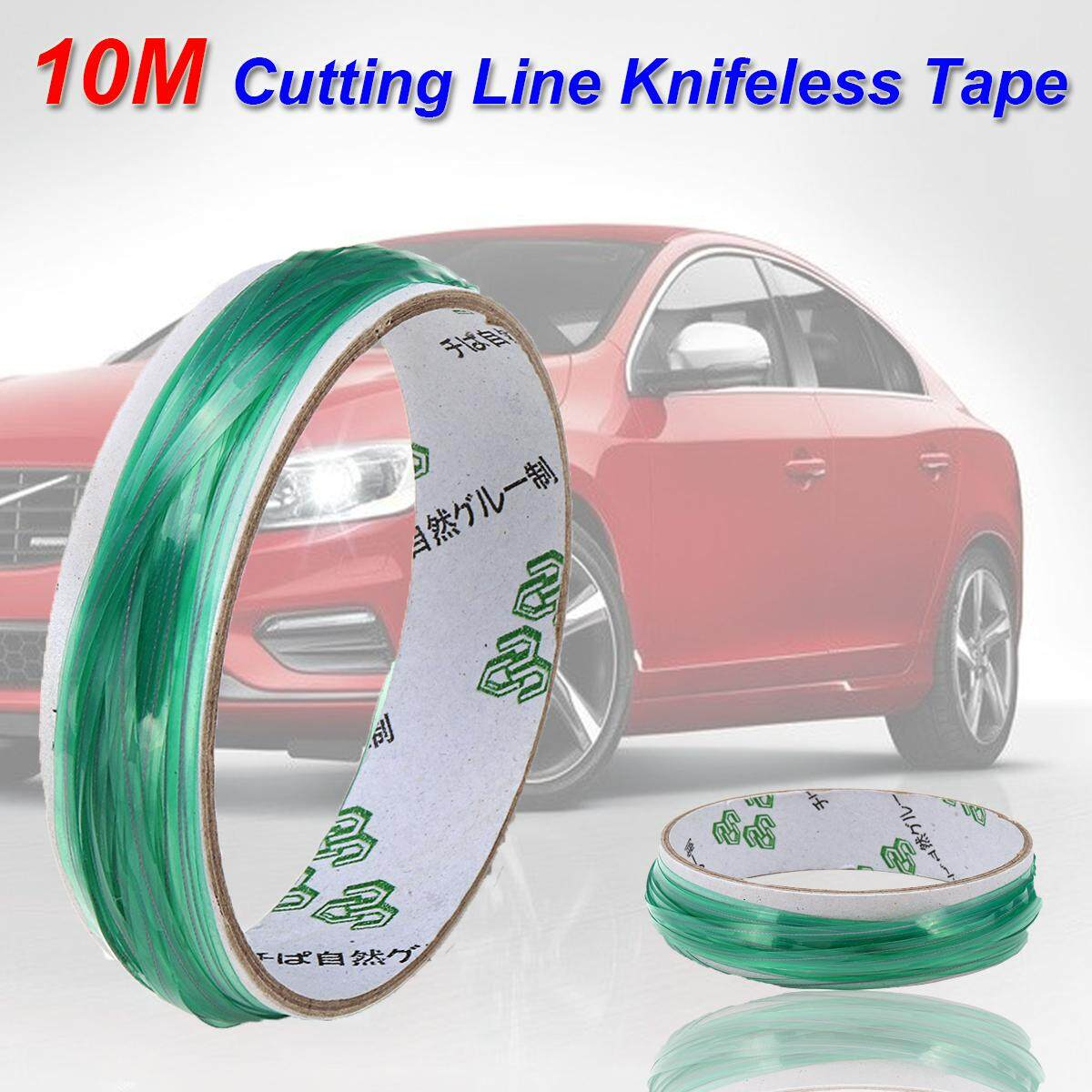 10m Cutting Line Kni Feless Tape Trim Tool Finish Pinstripe For Car Film Sticker By Audew.