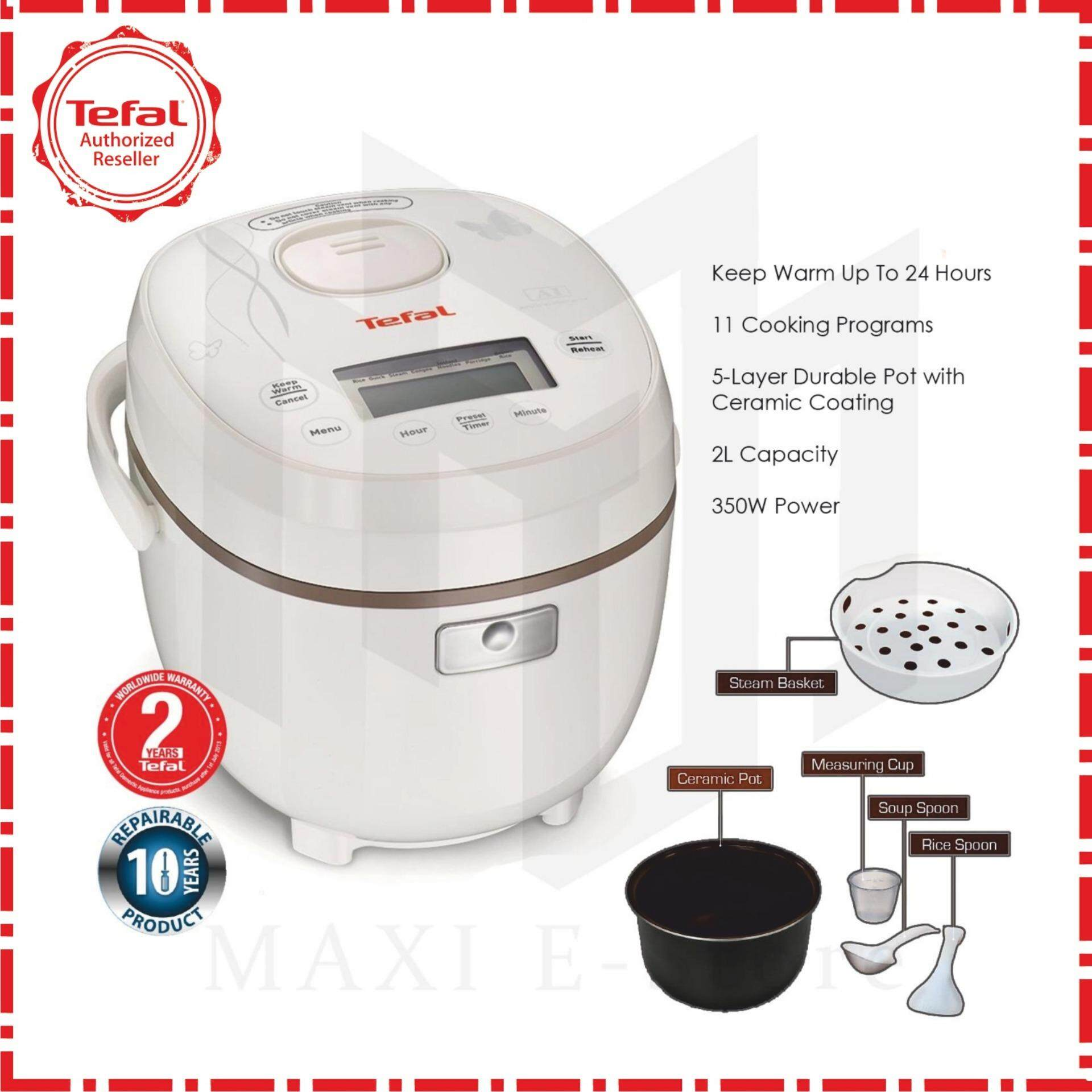 Tefal Rk5001 Mini Fuzzy Logic Rice Cooker 0.5l By Maxi E-Store.
