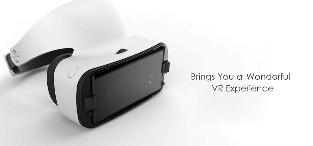 Original Xiaomi VR 3D Virtual Reality Glasses 103 Degree FOV Object Distance Adjustment with Remote Controller- White