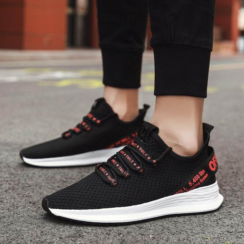 aaf3d74ce69 Product details of 2019 New Style Trend Casual Light Classic Fashion Youth  Comfortable Mesh Men Sport Shoes Running Sneaker-(White)