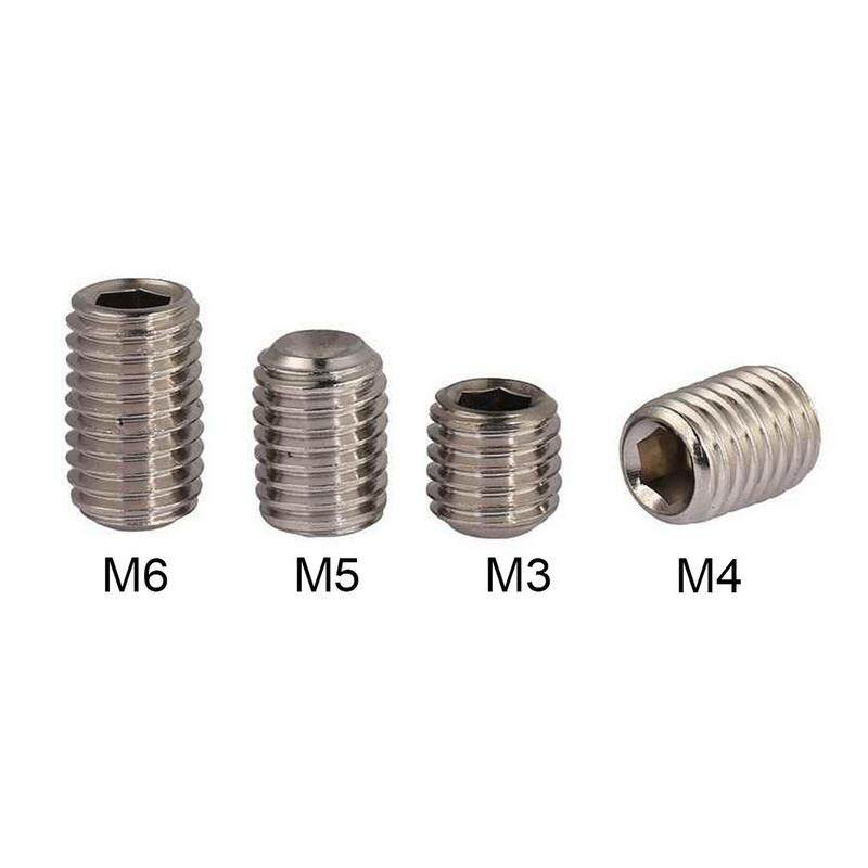 Cup Point 5mm Stainless Steel Grub Screws Hexagon Socket M5