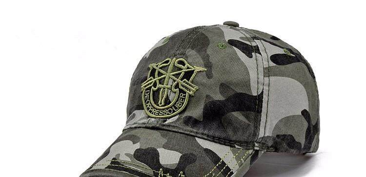 2793a3aa 2019 New Fashion Army Camo Baseball Cap Men Women Tactical Sun Hat Letter  Adjustable Camouflage Casual Snapback Cap