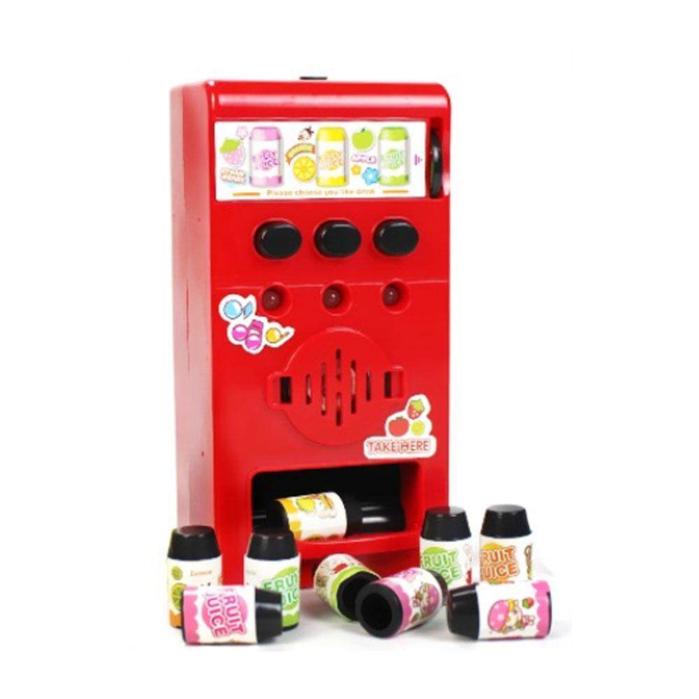 So Young Store Fashion Hot Sale!!!Children'S Vending Machine Coin Drink  Machines Fashion Plastic Red Puzzle Party