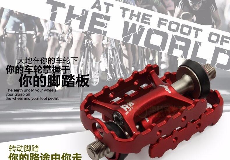 M111 Wellgo Ultralight Aluminium Bicycle Pedals Quick Release Bearing 9//16/""