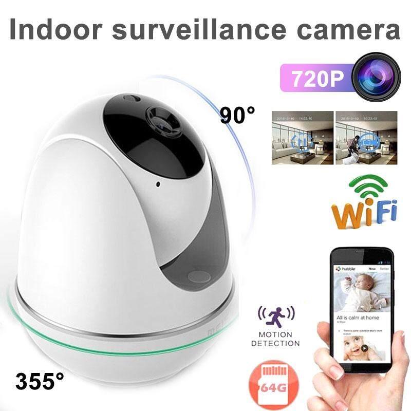 Got It PTZ Two Way Audio Intelligent Auto Tracking Wireless CCTV Camera  Wifi Camera IP Camera View 4 Screens Simultaneously Voice Recorder Wireless