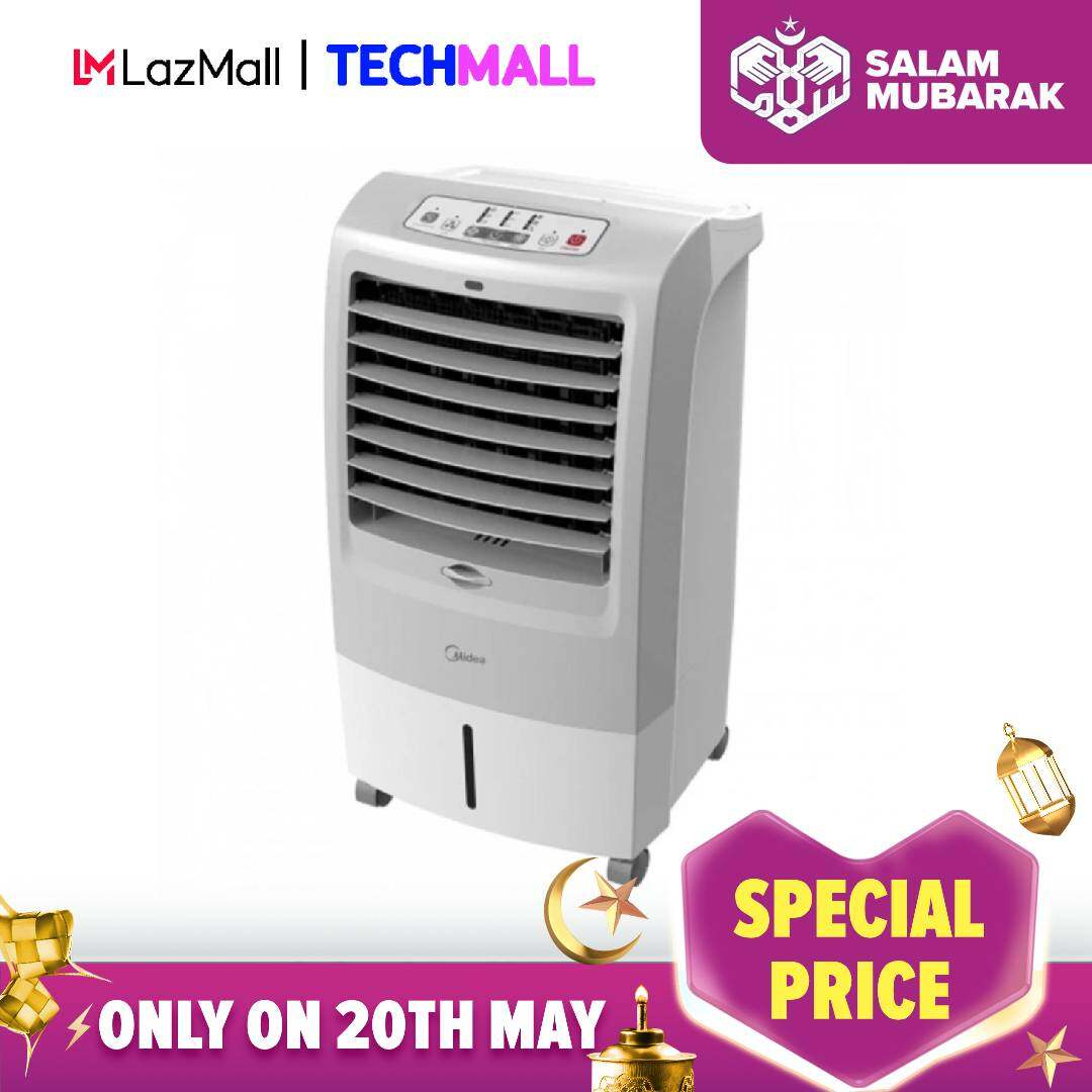 [RAYA SALE] Midea 15L Ionizer Air Cooler with Remote Control MAC-215F