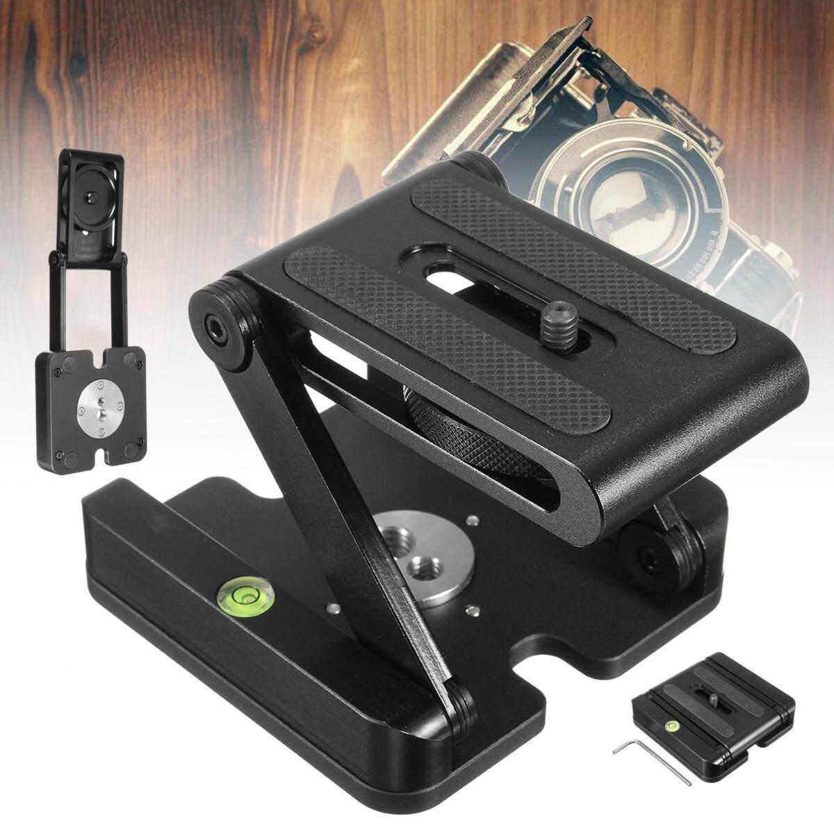 Camera Flex Folding Z Pan Stand Tripod Tilt Bracket Head Solution  Photography