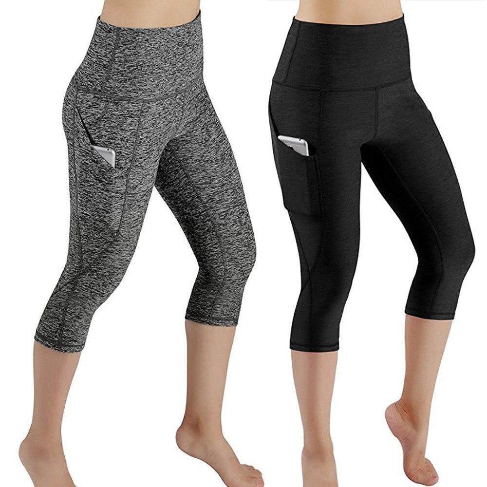Women Sports Yoga Longs Gym Fitness Leggings Slim Pant Athletic Sportwear