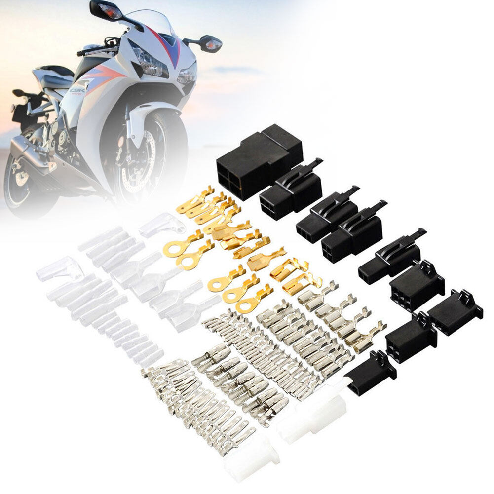 Motorcycle Electrical Wiring Harness Repair Kit Loom Plug Bullet Connectors Lazada Ph