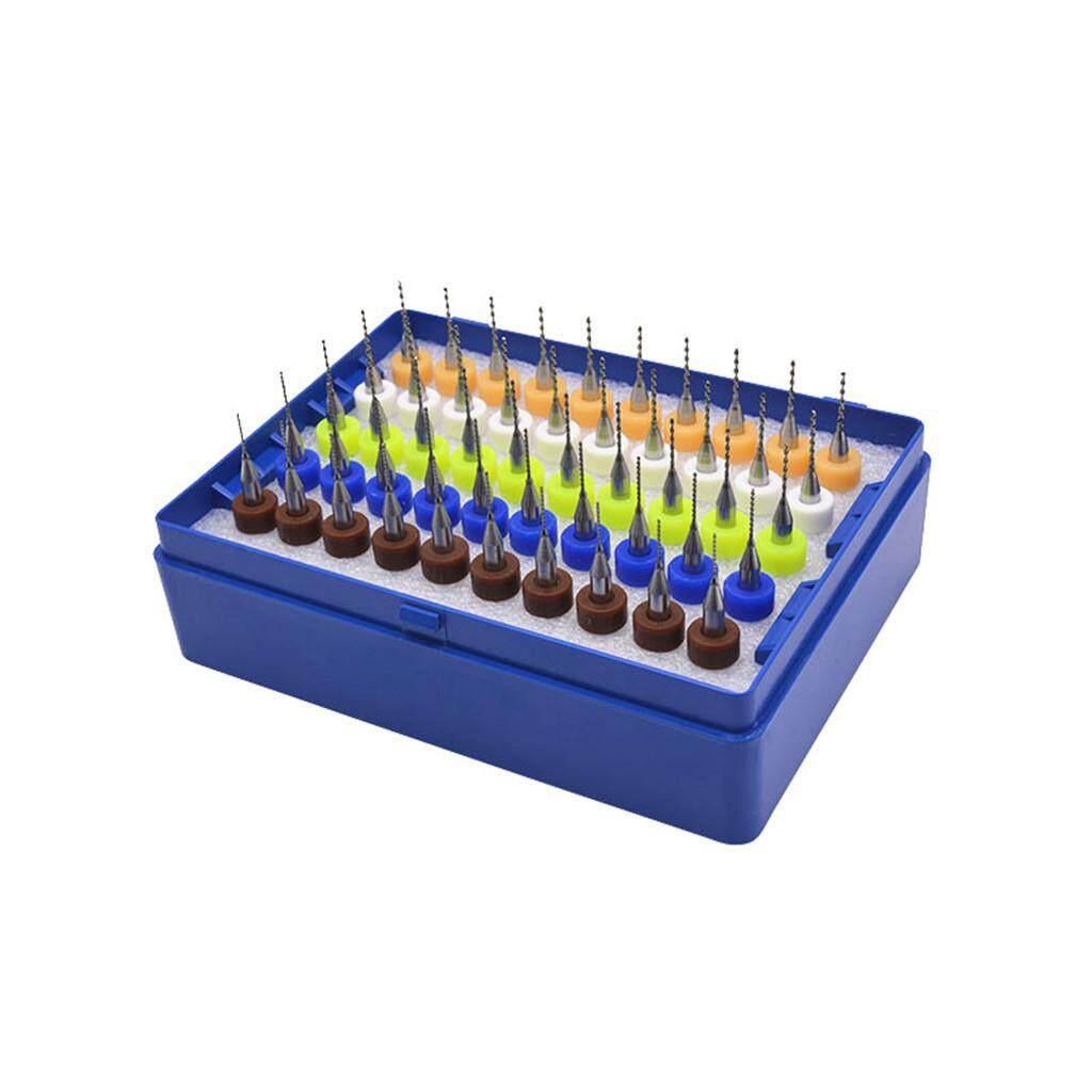 Practical Multifunctional PCB Printing Circuit Board Carbide Micro Drill  Bits 50Pcs 0 5-0 9mm CNC Po Drill