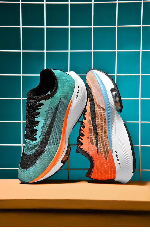 Giày Nam Rách 2 Giày Thể Thao Trang Web Chính Thức Phủ Điền Marathon Giày Chạy Bộ Rách 2 Mặt Lưới Pegasus Giày Chạy Đệm Khí Uyên Ương Nam 39