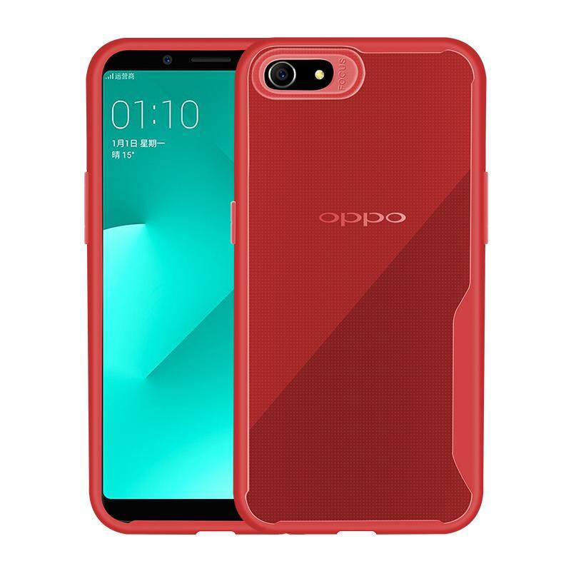 For OPPO A83/A1 Ultra Slim Translucent Back Cover Non-slip Shockproof TPU  Full Protective Case Style:OPPO A83/A1