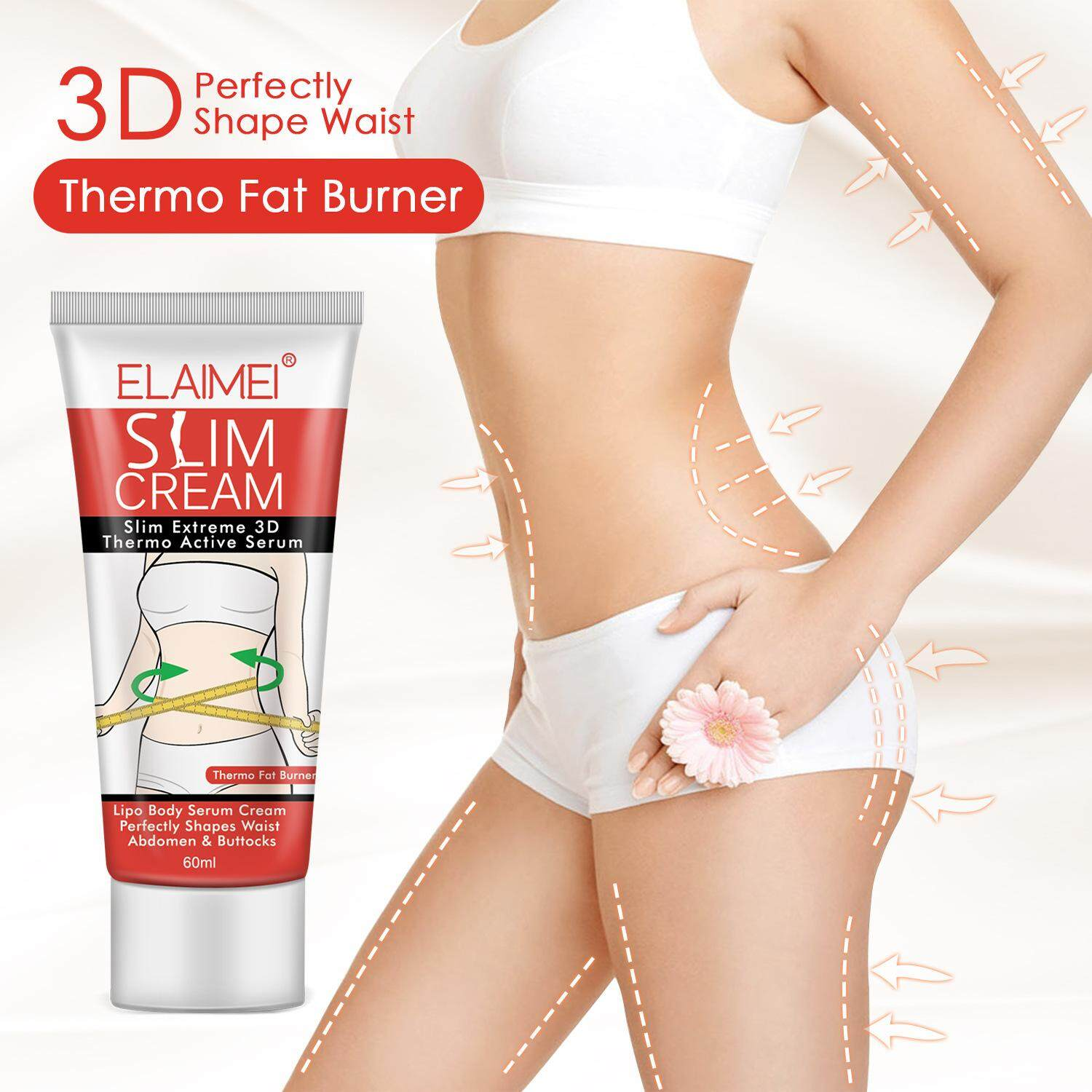 Elaimei Cellulite Removal Cream Anti Fat Burning Slimming Cream Muscle Relaxer