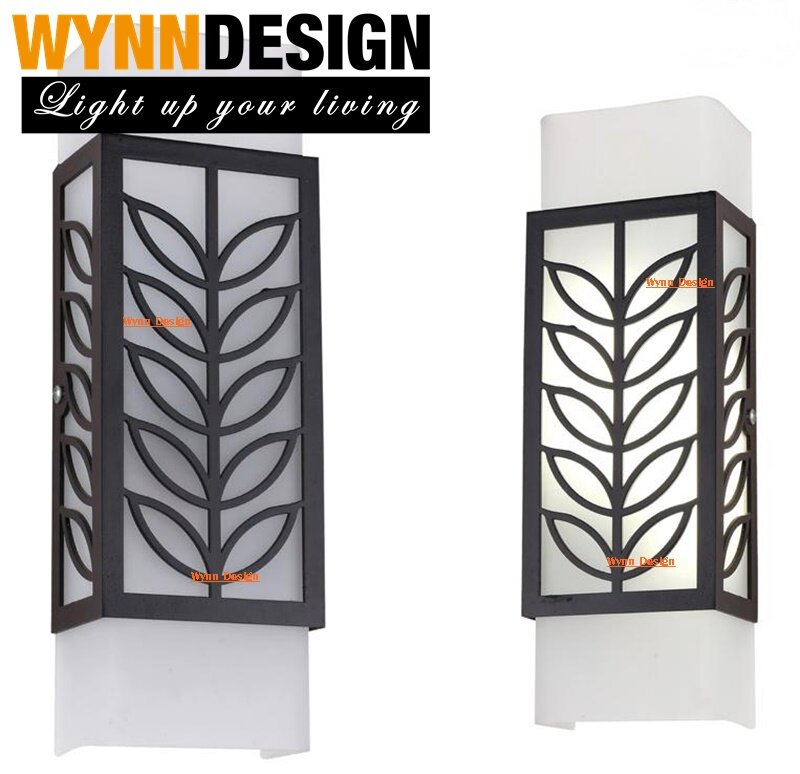Wynn Design Set With Led Bulb Ceiling Light Small Light Wall Light Glasses Wood Geometry Pattern Light Lampu Dinding Lampu Hiasan 6692 Lazada