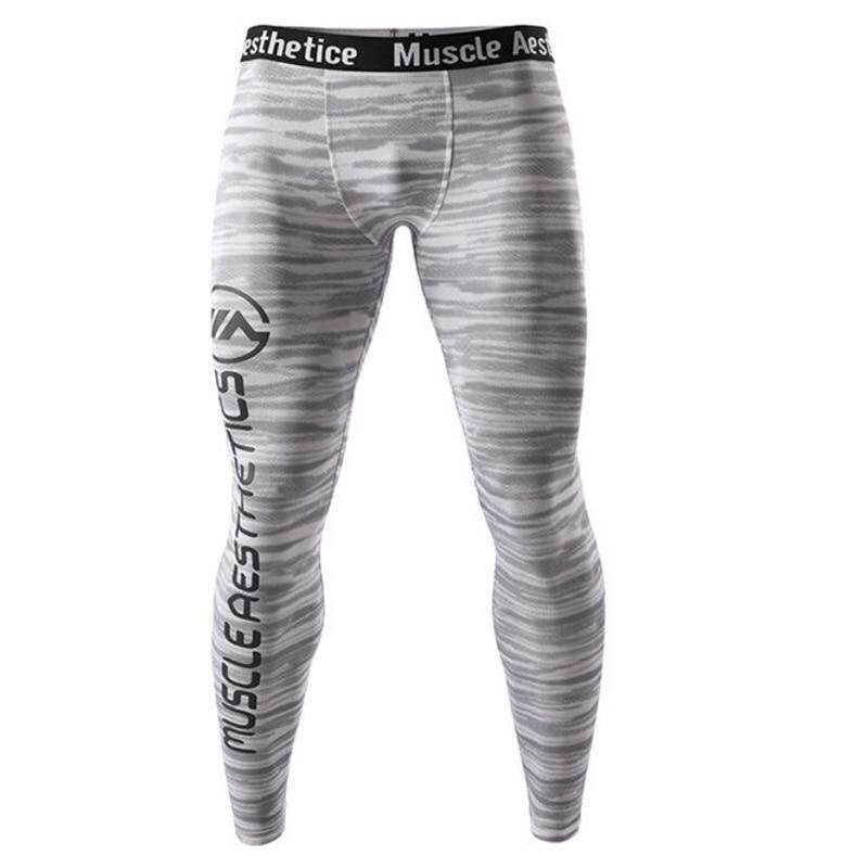 7f110d221d7a7f Specifications of Men Compression Tight Leggings Running Sports Male Gym  Fitness Pants Quick dry Trousers Workout Training Crossfit Yoga Bottoms