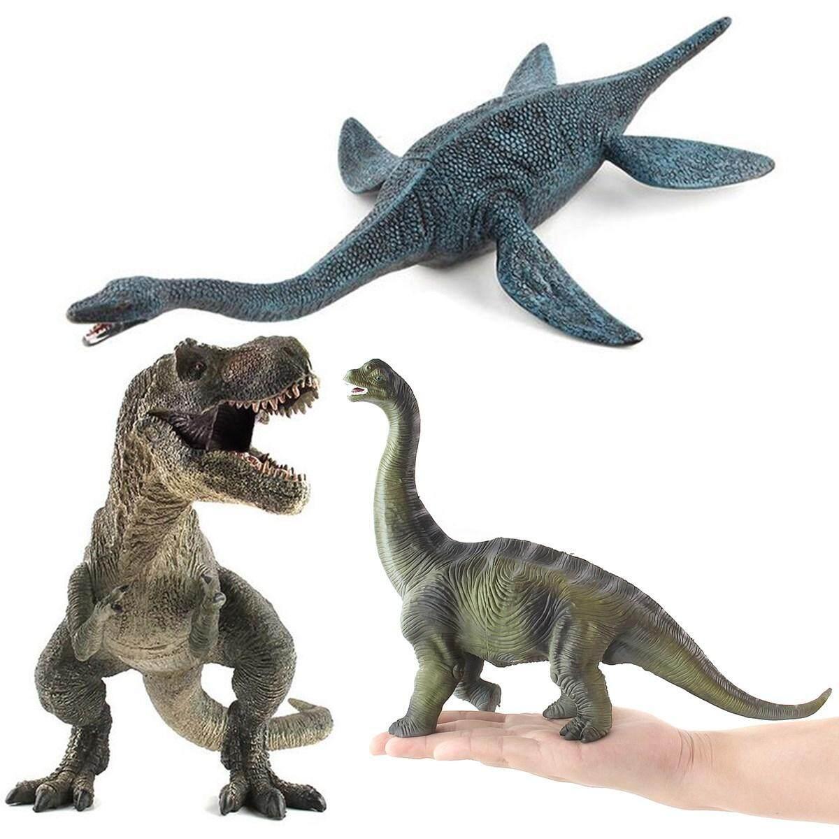 Toys & Hobbies 20cm Plesiosaur Realistic Dinosaur Animal Figure Solid Plastic Toy Model