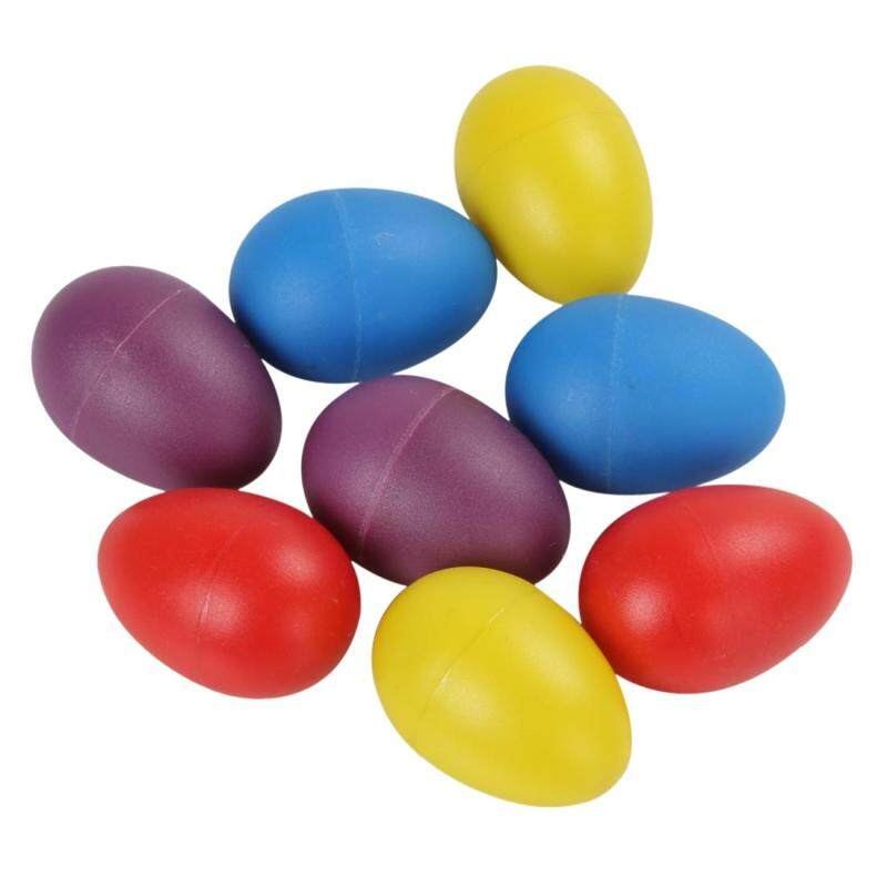 2pcs Plastic Eggs Shakers Rattle Rustling Percussion Musical Toy for KTV Party Kids Games Malaysia