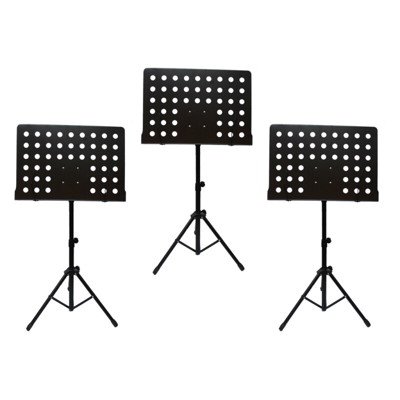 [3 in 1 Value Pack] Heavy Duty Music Stand for Orchestra, Conductor, Violin, Keyboard, Guitar, Ukulele & Food Menu(High Quality) Malaysia
