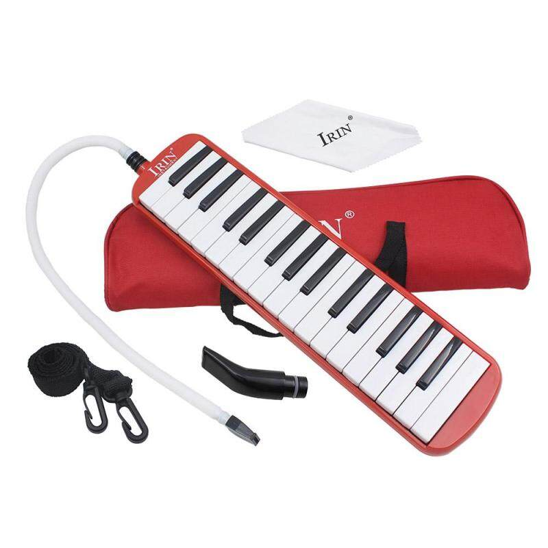 32 Piano Keys Melodica Musical Education Instrument for Beginner Kids Children Gift with Carrying Bag Red Malaysia