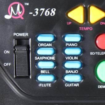 37 Keys Music Electronic Keyboard Kid Electric Piano Organ W/Mic & Adapter - 4