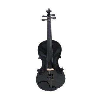 4/4 Violin Fiddle Basswood Steel String Arbor Bow Stringed Instrument for Beginners Music Lovers