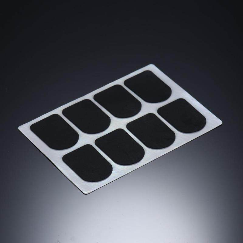 8pcs Bb Clarinet/ Soprano Saxophone Sax Mouthpiece Patches Pads Cushions Silicone Material Thickness 0.8mm Malaysia