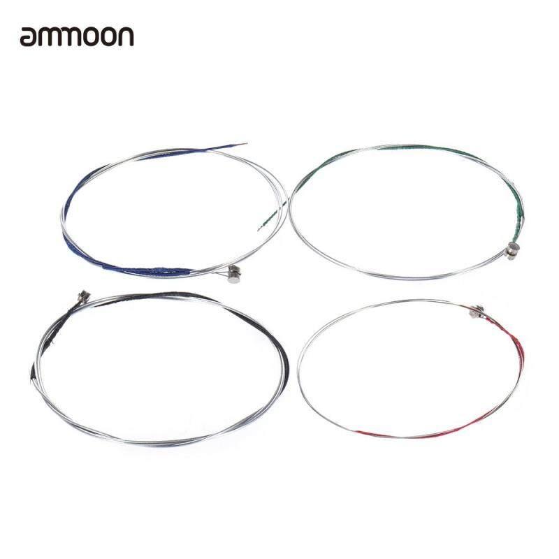 ammoon Full Set High Quality Violin Strings Size 4/4 & 3/4 Violin Strings Steel Strings G D A and E Strings Malaysia