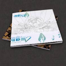 Anime Hatsune Miku Coloring Book Manga Paint Anti Stress Art Therapy