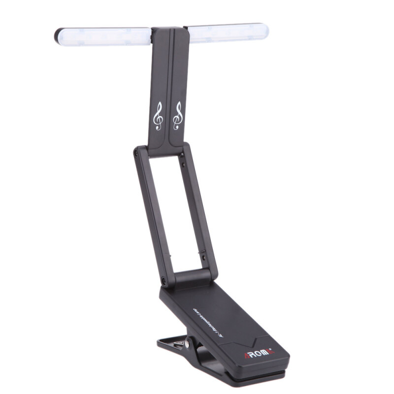 Aroma AL-1 Clip-on Rechargeable Music Stand  Lamp for Piano LED Stage Light Universal Compact Portable USB Charge Malaysia