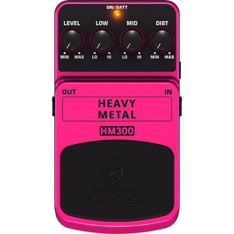 Behringer HM-300 Heavy Metal Distortion Effect Pedal Malaysia