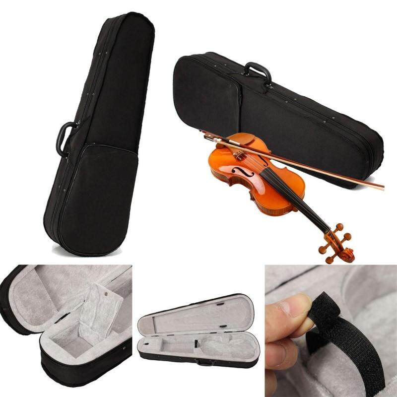 Black Cloth Fluff Case Bag Protective For 4/4 Violin Full Size Triangle Shape Malaysia