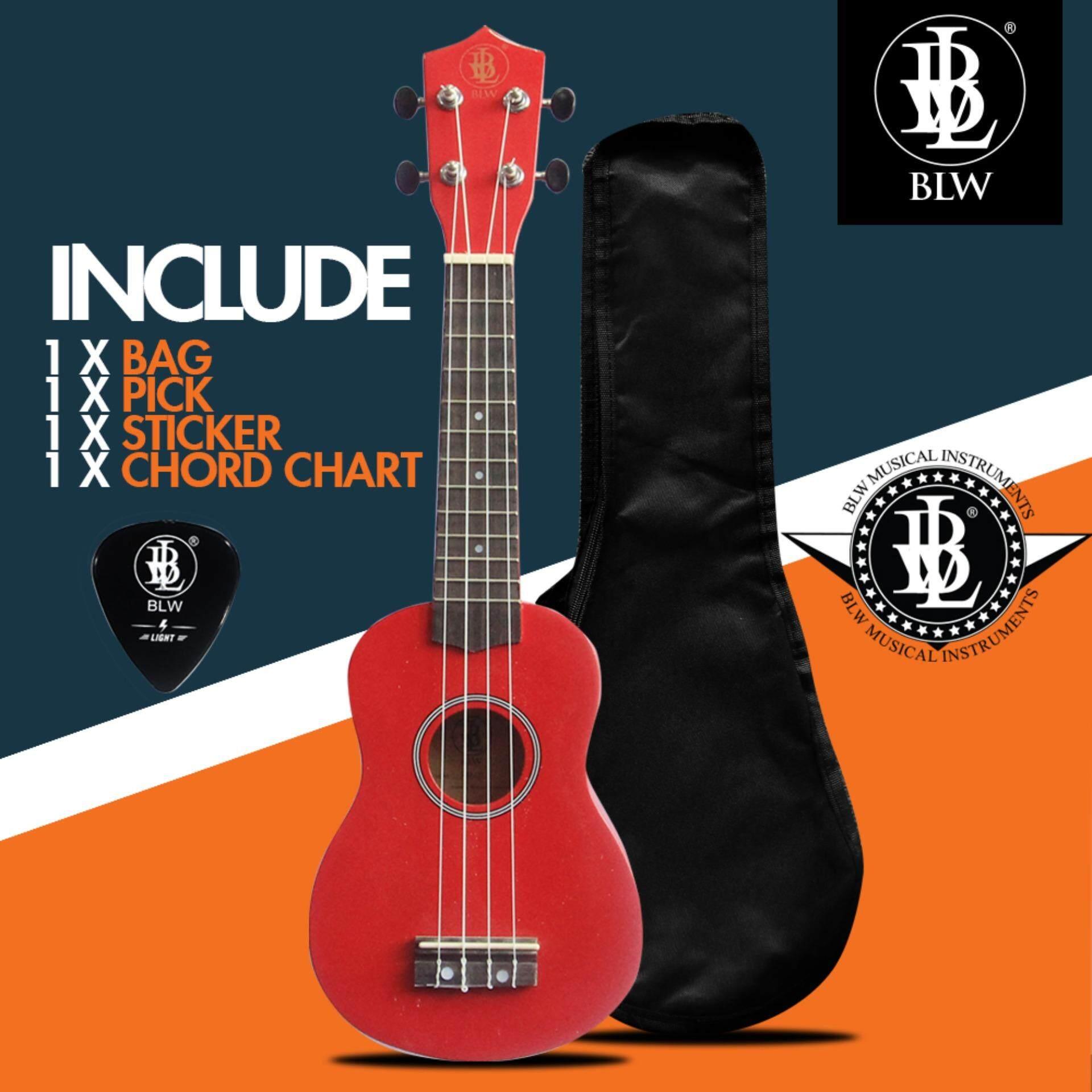 Blw 21 inch 4 nylon strings soprano ukulele hawaii guitar free blw 21 inch 4 nylon strings soprano ukulele hawaii guitar free chord chart pick sticker red lazada malaysia hexwebz Gallery
