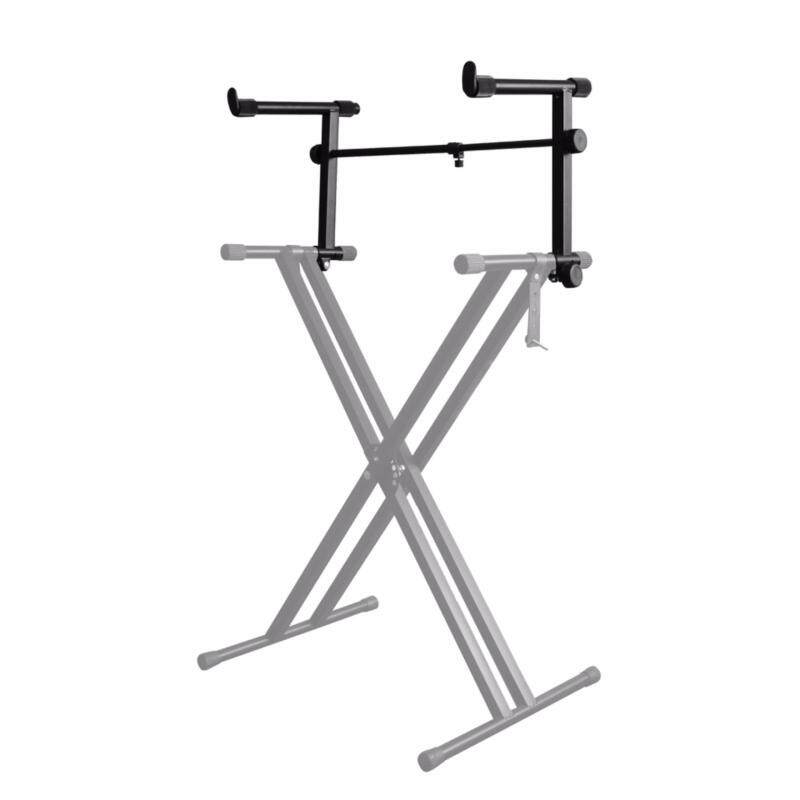 BLW Music Keyboard Stand Extension Arm Second Tier (Black) Malaysia
