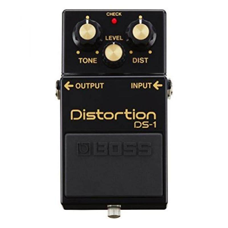 BOSS DS-1 Distortion Guitar Pedal, Black, 40th Anniversary Limited Edition Malaysia