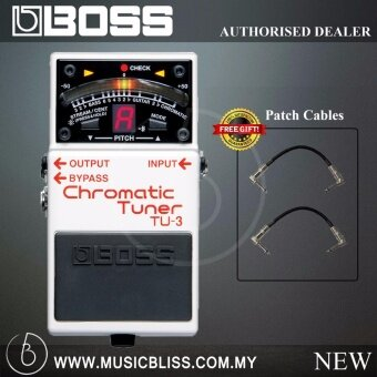 Harga Boss TU-3 Chromatic Tuner Pedal