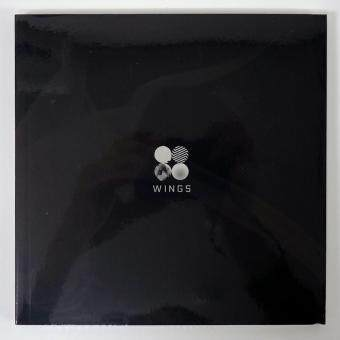 Harga BTS BANGTAN BOYS - WINGS (Vol.2) [W version]CD+Photobook+Photocard+Folded Poster+Extra Photocards Set