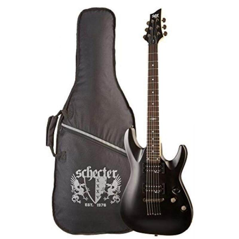 C-1 SGR by Schecter Beginner Electric Guitar - Midnight Satin Black (Amazon Exclusive) Malaysia