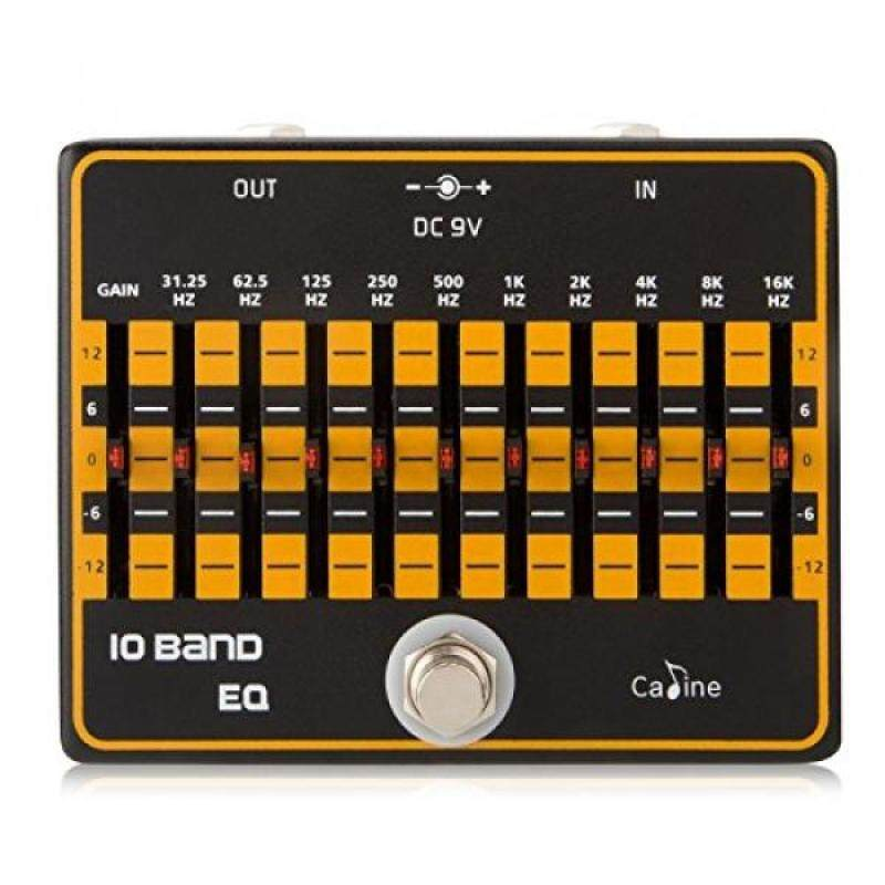 Caline USA, CP-24 10-Band EQ equalizer Guitar Effects pedal Malaysia