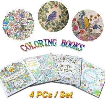 Harga Children Adult Coloring Books Painting Secret Garden An InkyTreasure Hunt