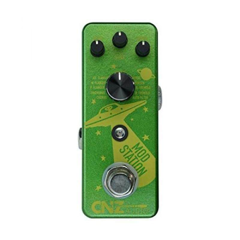 CNZ Audio Mod Station 11 Selectable Digital Modulation Guitar Effects Pedal, True Bypass Malaysia