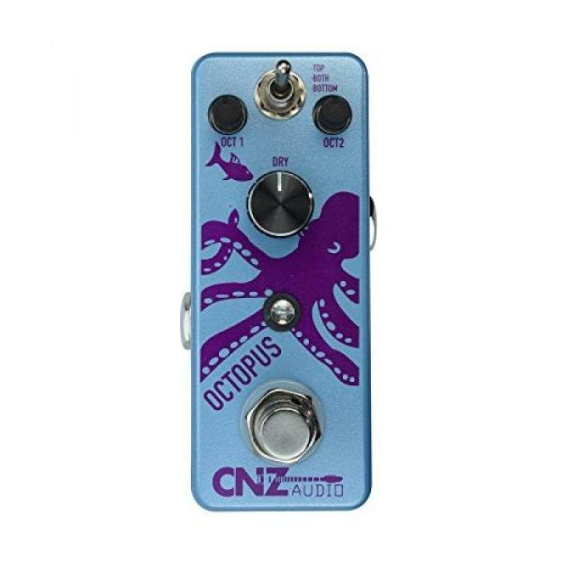 CNZ Audio Octopus - Octave Guitar Effects Pedal, True Bypass Malaysia