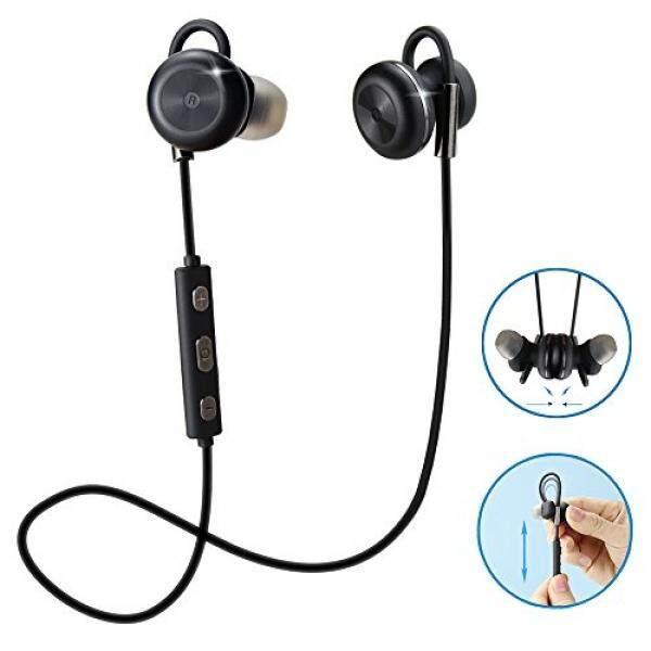 comsoon bluetooth headphones magnet attraction adjustable ear hook wireless v4 1 in ear. Black Bedroom Furniture Sets. Home Design Ideas