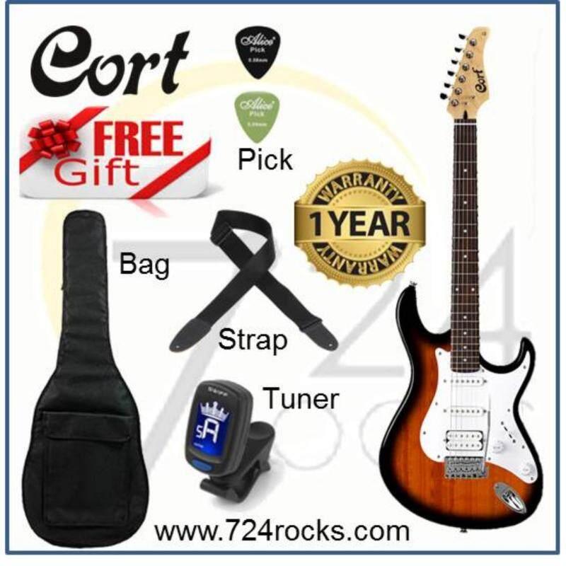 Cort G110 Electric Guitar (2T) Free Bag, Strap, Tuner & Picks Malaysia